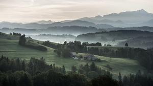 Fog Valley 2981x1677 Wallpaper