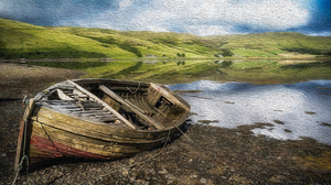 Artistic Boat 3840x2160 Wallpaper