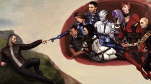 Ashley Williams Commander Shepard Jack Mass Effect Jacob Taylor Kaidan Alenko Kasumi Goto Liara T 03 1920x1200 Wallpaper