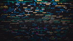 JavaScript Tilt Shift Depth Of Field Programming Language Blurred Monitor Code 2000x1333 wallpaper