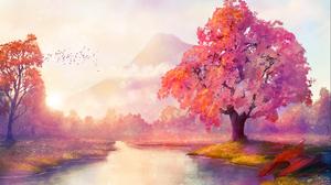 WinterKeep Ben J Landscape Digital Digital Art Artwork Illustration Digital Painting Drawing Trees F 1900x1200 Wallpaper