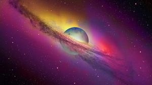 Planet Space 2560x1600 Wallpaper