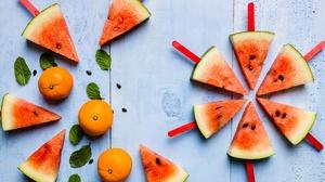 Fruit Still Life Watermelon 3240x2160 Wallpaper