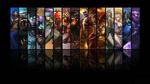 Akali League Of Legends Brand League Of Legends Janna League Of Legends Kassadin League Of Legends K 1920x1080 Wallpaper