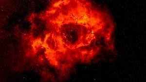 Rose Nebula Skull Bones Galaxy Space Universe Stars Fire Plasma Smoke Mist Milky Way 2360x2160 Wallpaper