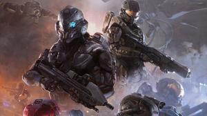 Armor Futuristic Halo Halo 5 Guardians Master Chief Warrior Weapon 1920x1336 wallpaper