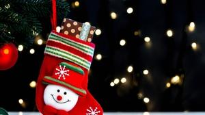 Christmas Christmas Socks Gift Snowman 3000x2000 Wallpaper
