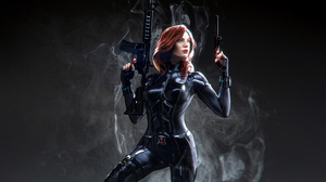 Marvel Comics Marvel Cinematic Universe Black Widow Charles Logan 3840x2160 Wallpaper
