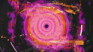 Glitch Art Abstract Space Art Symmetry 2500x1406 Wallpaper