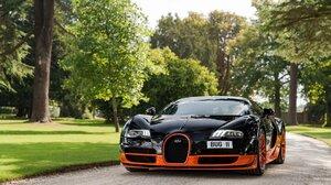 Car Vehicle Black Cars Supercars Bugatti Bugatti Veyron 1920x1200 Wallpaper