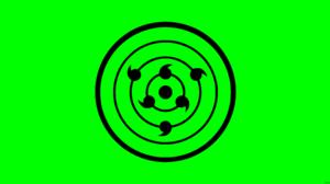 Green Minimalist Naruto Rinnegan Naruto 8500x4500 Wallpaper