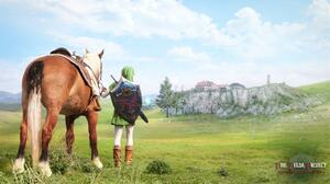 Epona The Legend Of Zelda Horse Link The Legend Of Zelda 1920x1080 wallpaper