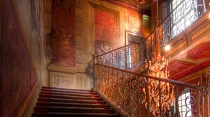 Chandelier Colorful Colors Man Made Stairs 1920x1200 Wallpaper