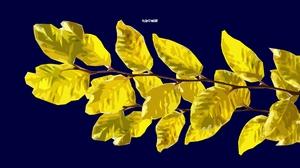 Simple Minimalist Yellow Artwork Digital Art 3252x2129 wallpaper