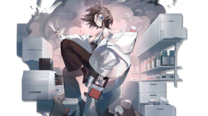 Arknights Anime Roberta Arknights 2048x2048 Wallpaper