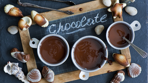 Chocolate Cup Food Shell Sweets 2000x1348 Wallpaper