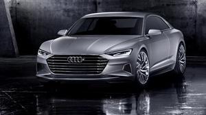 Audi Audi Prologue Car Compact Car Luxury Car Silver Car 4961x3543 Wallpaper