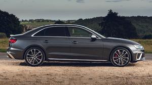 Audi S4 Black Car Car Compact Car Luxury Car Sedan 1920x1080 Wallpaper