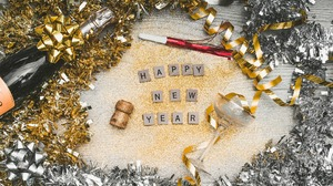 Decoration Happy New Year New Year 1920x1280 wallpaper