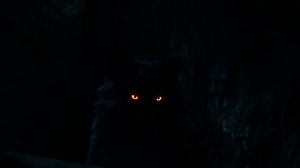 Assassins Creed Valhalla Assassins Creed Wolf Glowing Eyes Mythology Black Dark Blue PC Gaming Video 2642x1262 Wallpaper