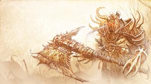 Barbarian Diablo Iii Diablo Iii 3555x2000 Wallpaper
