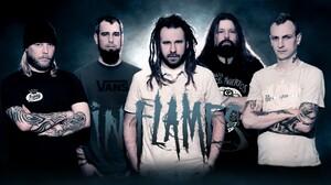 Music Metal Music In Flames Metal Band Band Logo Melodic Death Metal Metalcore Groove Metal Alternat 1920x1080 Wallpaper
