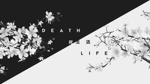 Black Amp White Death Japan Kanji Life 1920x1080 Wallpaper