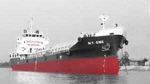 Selective Color Ship Tanker 1920x1080 wallpaper