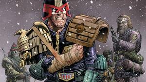 Comics Judge Dredd 1920x1080 Wallpaper