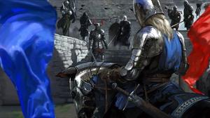 Armor Horse Knight Mount Amp Blade Sword Warrior 2133x1114 wallpaper