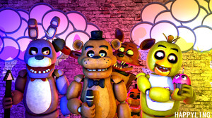 Bonnie Five Nights At Freddy 039 S Chica Five Nights At Freddy 039 S Foxy Five Nights At Freddy 039  2560x1440 Wallpaper