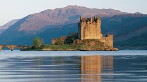 Man Made Eilean Donan Castle 3048x2106 Wallpaper