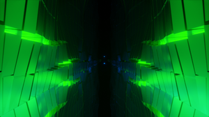 Science Fiction Abstract 3D Abstract 3D Animation Digital Blender 1920x1080 Wallpaper