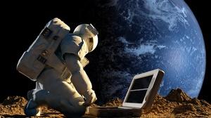 Astronaut Cosmos Sci Fi Science Space Stars 3420x2410 Wallpaper