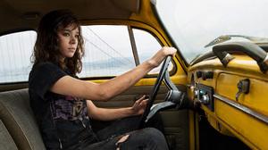 Bumblebee Movie Car Hailee Steinfeld Movie Transformers 5184x2721 Wallpaper