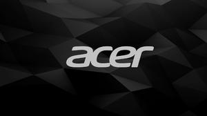 Acer Logo Black Background Geometry 1920x1080 Wallpaper