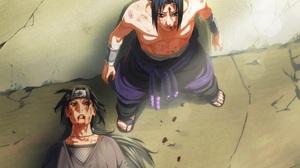 Itachi Uchiha Sasuke Uchiha 2132x1692 Wallpaper