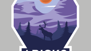 Artwork Digital Art Reindeer Sunset Mountain Pass Forest Pine Trees Simple Background Clouds Illustr 3872x4019 Wallpaper