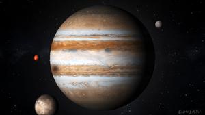 Jupiter Space Watermarked 1920x1080 Wallpaper