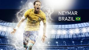 Brazilian Neymar Soccer 1920x1200 Wallpaper