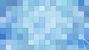 Shapes Geometry Colorful Blue Gradient 1920x1080 Wallpaper