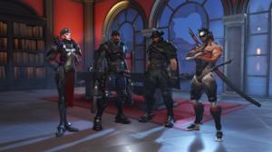 Hanzo Overwatch Mccree Overwatch Moira Overwatch Overwatch Reaper Overwatch 5120x2880 Wallpaper