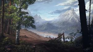 Landscape Mountain Nature River 3000x1688 wallpaper