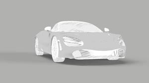 McLaren 720S Minimalism Sports Car Sketches Car Monochrome 7680x5071 wallpaper