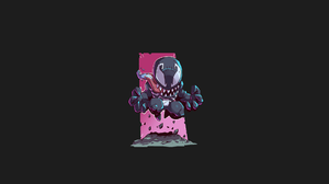 Venom Drawing Villains Spider Man Pink 1920x1080 Wallpaper