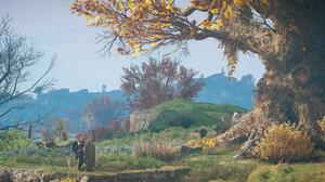 Eivor Landscape Sky Mountains PC Gaming 2537x1440 wallpaper