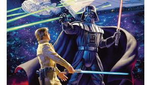 Star Wars Darth Vader Luke Skywalker Sith Jedi Millenium Falcon Star Destroyer Concept Art Greg Hild 1890x2560 Wallpaper