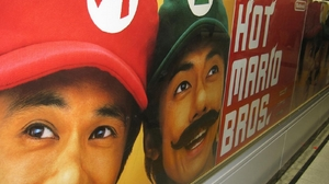 Advertisement Mario 1600x1280 Wallpaper