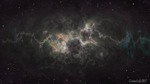 Galaxy Digital Space Watermarked 1920x1080 Wallpaper