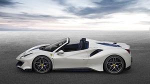 Sport Car Supercar Convertible Car Ferrari 488 Spider Ferrari 488 Ferrari White Car 4961x3727 Wallpaper